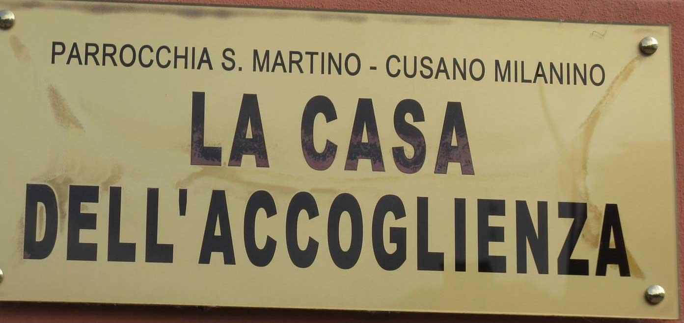 casa dell'accoglienza parrocchia san martino cusano milanino